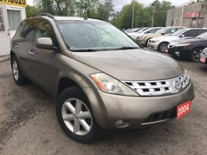 2004 Nissan Murano SE/AWD/LEATHER/ROOF/LOADED/ALLOYS