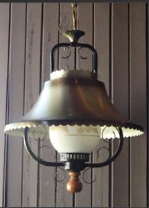 Lampe suspendue Capitaine Vintage