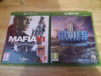 Mafia 3 & Cities Skylines Xbox One Edition