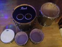 Pearl EXR 5 piece drum kit