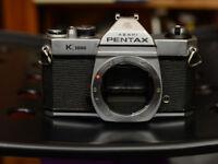 Pentax K1000 body
