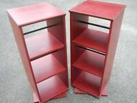 pair dvd racks Rotating 2 Sided CD / DVD / BOOK Storage Unit