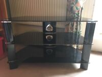 TV/DVD stand with 3 shelves in immaculate condition