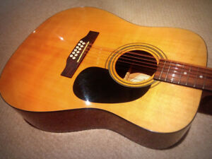 12 String Acoustic Electric - $225