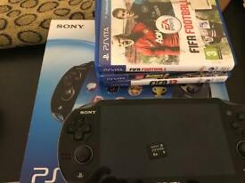 PS Vita & 3 Games and Memory Card!!!!