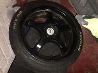 Vauxhall corsa c /d aloys 4 x 100 r17 tsw aloys