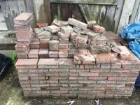 Load of pavement bricks