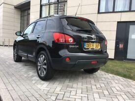 2009│Nissan Qashqai 2.0 N-TEC CVT 4WD 5drAuto │Sat Nav│Pan Roof│1 Year MOT│Hpi Clear│Bluetooth