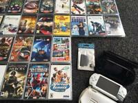 HUGE 2 x SONY PSP PLAY STATION PORTABLE BUNDLE GAMES FILMS