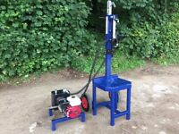 Oxdale Honda Petrol Engine Log Splitter, EX DEMO, as new condition! 10 ton, towable