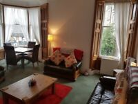 Lovely double room available immediately in student area of Perth Road