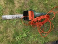 Black & Decker 41cm hedge trimmer