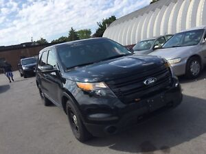 2014 Ford Explorer SUV, Crossover EX POLICE CERTIFIED