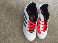 New size 13 Adidas boys astro turf boots