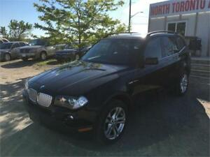 2008 BMW X3 3.0SI - LEATHER - PANO ROOF - AWD - HEATED SEATS