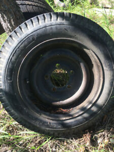 Nanco Trailer Tire With Rim One Only 5.30 - 12
