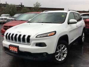 2014 Jeep Cherokee NORTH**4X4**3.2L**V6**NAV**BACK UP CAM**