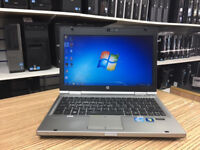 HP EliteBook 2560p Laptop i5-2410M 2.30GHz 4GB 320GB HDD Web Win 7 Laptop