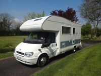 2003 FORD TRANSIT RIMOR SUPERBRIG 630 6 BERTH