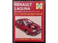 HAYNES SERVICE AND REPAIR MANUAL RENAULT LAGUNA