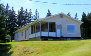 Partially furnished bungalow on 1.5acre waterview/waterfront lot