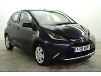 2015 Toyota Aygo VVT-I X-PLAY Petrol blue Manual