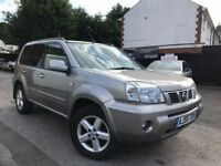 Nissan X-Trail 2.2 dCi SVE Full Service History Sunroof Sat/Nav Full Leather Seats LONG MOT