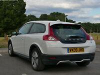 Volvo C30 1.6 D DRIVe 60mpg, tax is £30/year; Sunroof, Heated seats, Climate control,