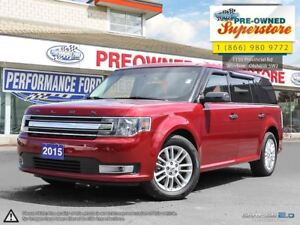 2015 Ford Flex SEL***leather, heated seats, low kms***