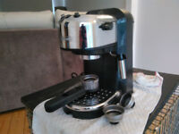 delonghi barista style coffee machine