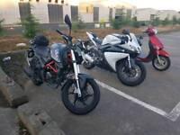 125cc motorbike ksr grs