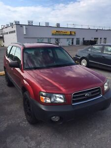2004 Forester AWD 3700$obo