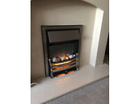 """Inset electric fire """"Daisy Polished Steel"""""""
