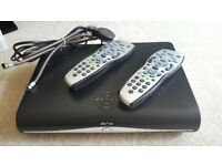 Sky plus HD box & 2 remote controls