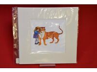 Art You Grew Up With Tiger and Sophie Art Print Kids £9.99