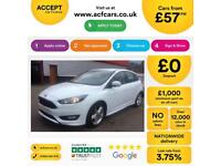 Ford Focus Zetec S FROM £57 PER WEEK!