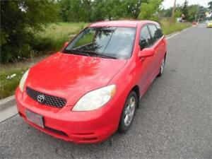 2004 Toyota Matrix XR, Fully Loaded, Ice Cold Air $2495.00