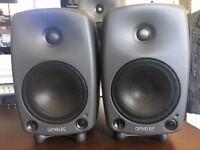 Pair of Genelec 8030b Studio Monitors