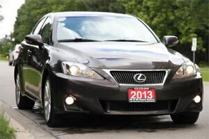2013 Lexus IS250 AWD Premium Pkg *LEATHER+SUNROOF+PADDLE SHIFTER