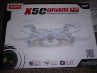 X5C 2.4GHZ Explorer Quad drone with video camera boxed unused from new