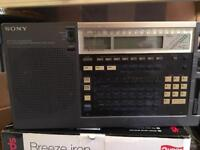 Sony ICF-2001D radio