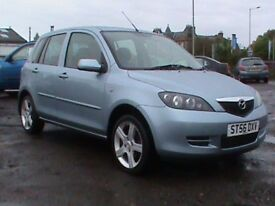 MAZDA 2 CAPELLA 1.4 5 DR SILVER 1 YRS MOT LOCAL CAR CLICK ON VIDEO LINK FOR MORE DETAILS OF THE CAR