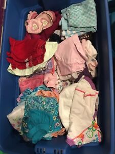 Extra Large Bin of Baby Girls Clothes 6-12 months