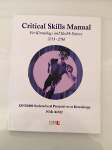 Sociocultural Perspectives in Kinesiology Critical Skills Manual