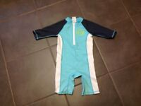 Childs swimsuit with UV protection, age 3-4