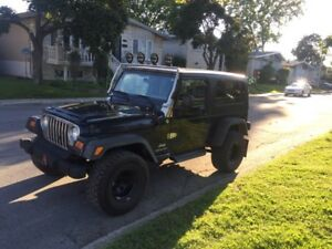 Jeep TJ unlimited 2005
