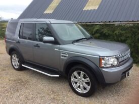 Land Rover Discovery 4 TDV6 Auto commercial £21500 (No VAT).