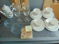 house items,joblot,carboot,tea cups,very cheap,glass,car boot items, job lot