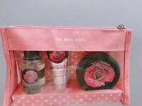 Travelling set of the Body Shop