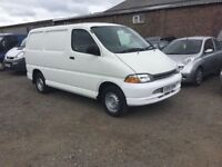 TOYOTA HIACE GS ULTRA RELIBLE TOYOTA VAN SIDE LOADER IN NICE CONDITION ANY TRIAL WELCOME PX CONSIDE